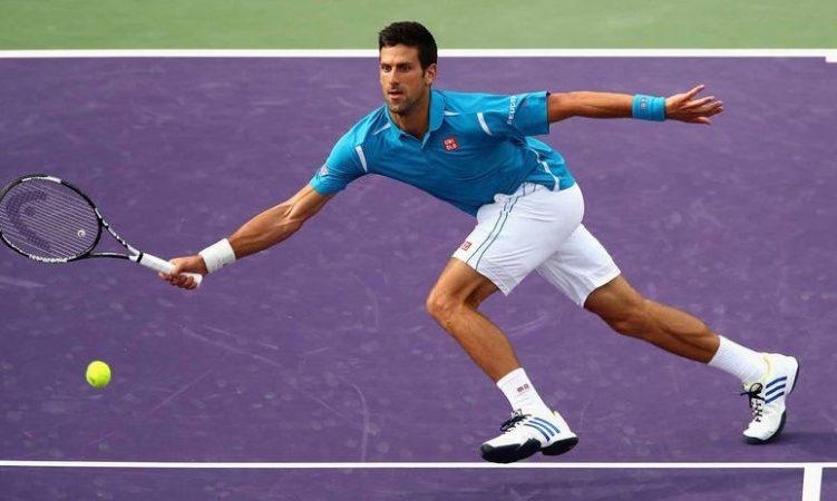 Novak Djokovic vs Steve Johnson 14/08