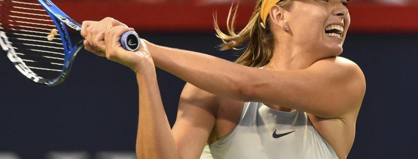 Maria Sharapova vs Caroline Garcia 10/08
