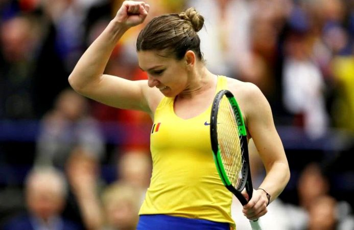 Simona Halep vs Julia Goerges 14.02.2019