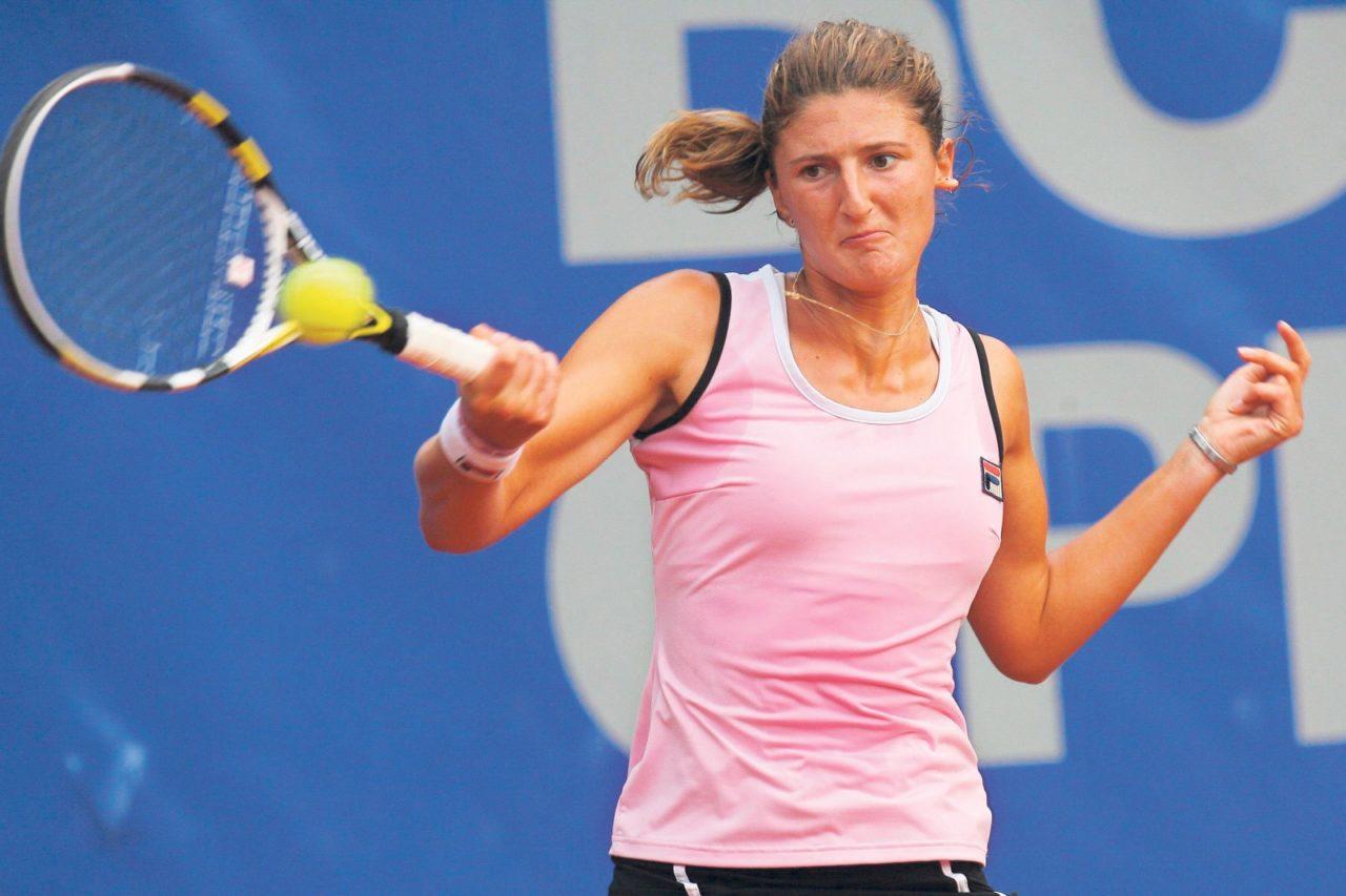 File:Irina-Camelia Begu 10, 2015 Wimbledon Championships ...  |Begu