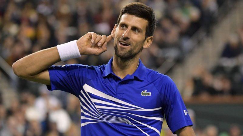Novak Djokovic vs Philipp Kohlschreiber 16.04.2019