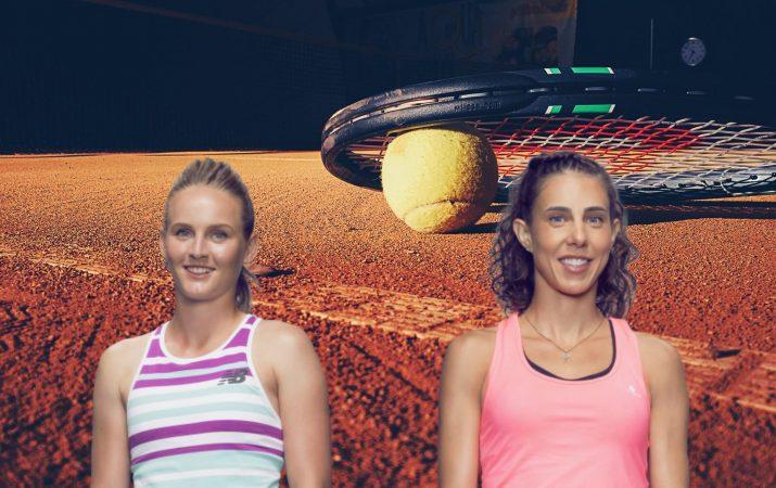 Fiona Ferro vs Mihaela Buzarnescu WTA Lausanne 18.07.2019