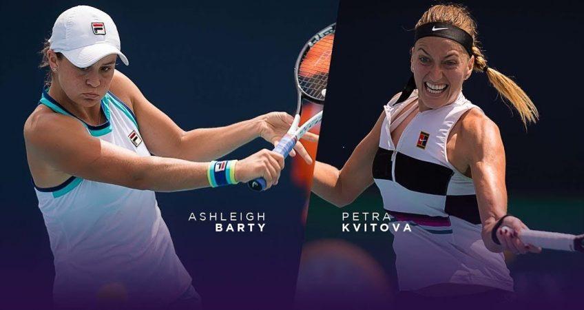 Barty vs Kvitova WTA Finals Shenzhen 31.10.2019