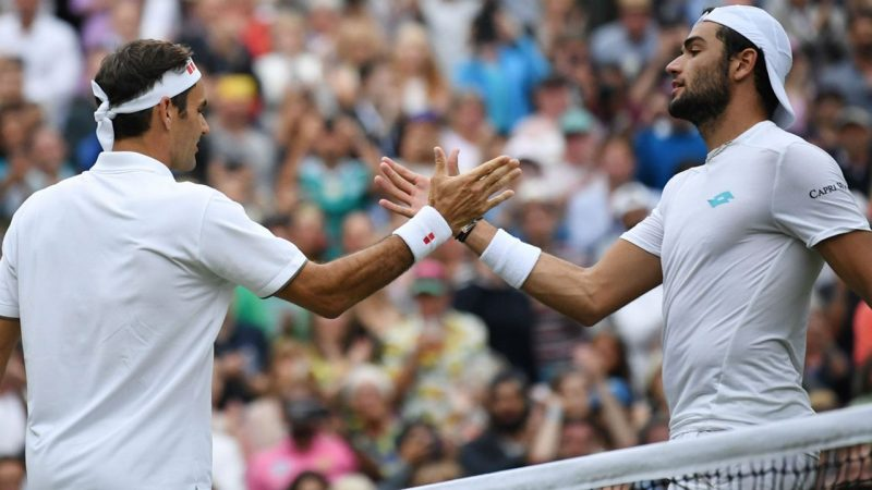 Roger Federer vs Matteo Berrettini ATP World Tour Finals 12.11.2019